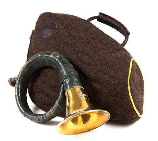 Jagdhorntasche *Loden*